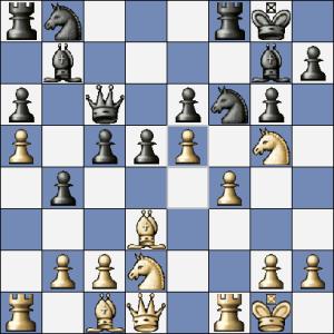 14. ...Dc6 15.e5