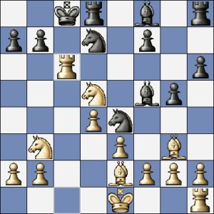 Gibiec-Kaminsky, 17.Vxc6