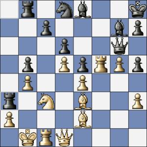 Po 27.Df1 by byl zřejmě rychle konec. Místo toho se hrálo 27.Vc2, což by sice taky mělo stačit, ale  nestačilo :-(