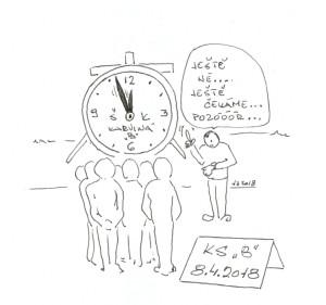 Klídek :-) Máme čas...
