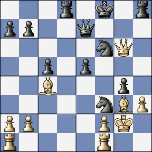 """Po Ve4 to bílý mohl zabalit, černý ale skočil bílému na """"špek"""" a zahrál Jd2"""