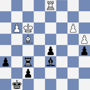 Krejčí-Zimniok. Pozice, která na šachovnici NIKDY nebyla :-)