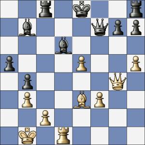 Po Vxd6 sice černý neprohraje, ale také se nevysmekne.