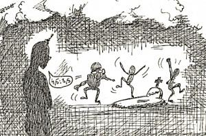 Ania přijela fandit, ale viděla už jen bestie křepčící na hrobu Slovanu :-)